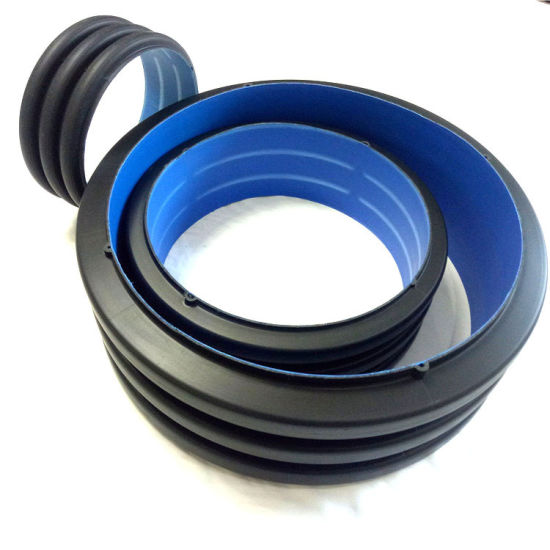 Jubo China Factory HDPE Double-Wall Bellows DN200-DN800 Corrugated Plastic Drainage Pipe