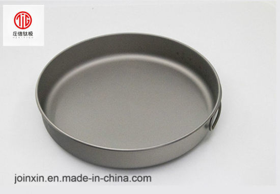 1000ml Ultralight Portable Outdoor Dish Titanium Camping Products