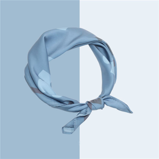 Fashion Custom Design Square 100% Silk Scarf Factory Direct