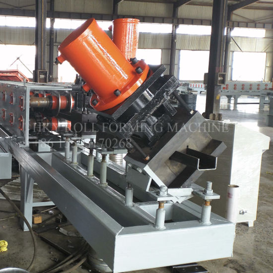 U Profile Roll Forming Machine Thickness Reach to 6mm