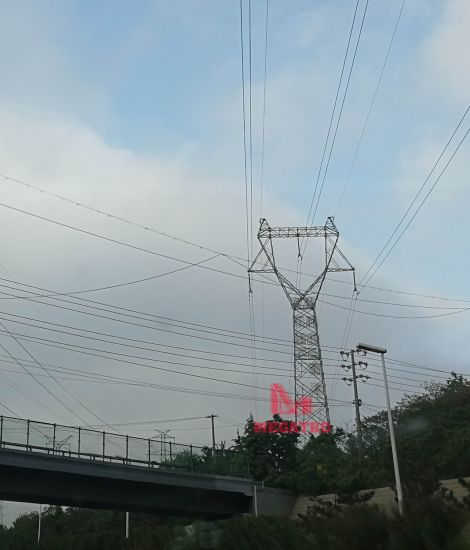 Megatro Power 220kv Transmission Line Z2 Suspension Lattice Tower pictures & photos