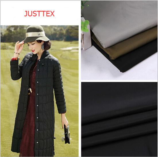 100% Nylon Taffeta Printed Coated Reflective Waterproof Down Jacket Fabric