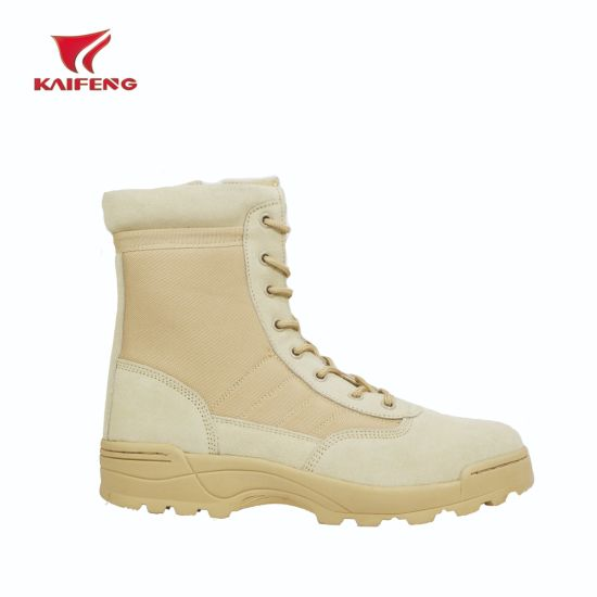 China Swat Beige Color Army Desert Military Boots Tactical - China ... e414a54d9