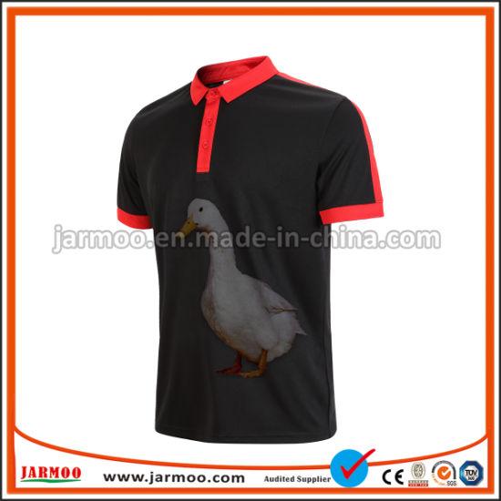 3fdf32f8f4da China Factory New Design Men 100% Polo T Shirt with Embroidery Logo ...