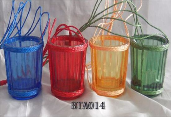 Glassware/Glass Jar/Candle Holder/Glass Craft Bottle