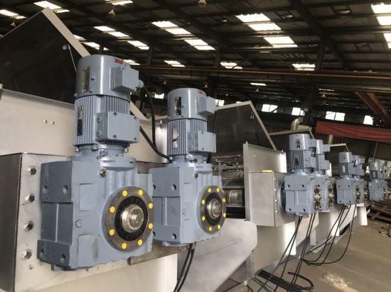 Volute Screw Press Sludge Dewatering Machine in Printing and Dyeing