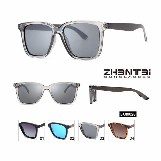 cab450fbcd78 2018 Hot Sale Brand Fashion Demi Square Polarized Stainless Frame Sunglasses  Male (BAM0028)