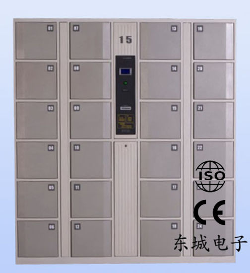 Barcode Electronic Locker (DKC-B-24) pictures & photos