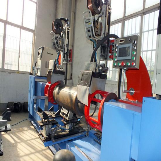 12kg Cylinder LPG Circumferential Seam Welding Equipment