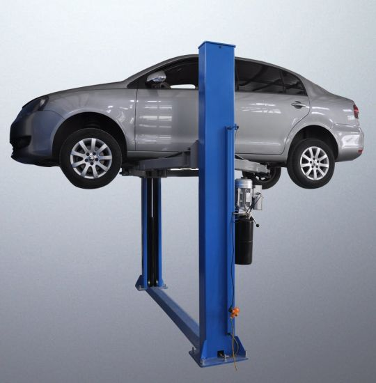 Two Post Simple and Practical Hydraulic Car Lift pictures & photos