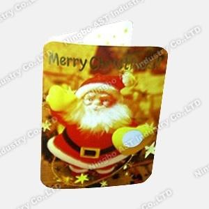 Christmas Greeting Card, Music Christmas Card (S-1010)