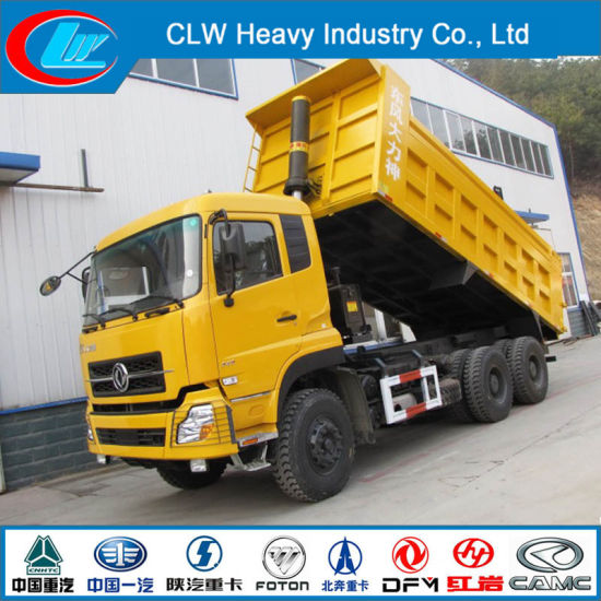 Dongfeng 6X4 25ton Heavy Duty Dump Truck for Sale pictures & photos