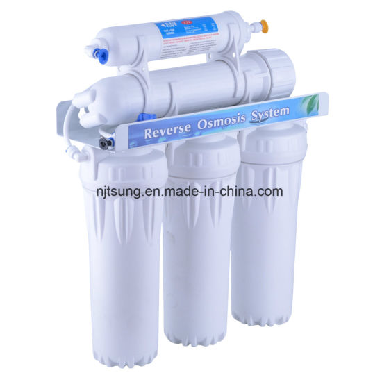 5 Stage RO System Water Filter Without Pump for Home Drinking pictures & photos
