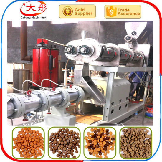 Extruded Aqua Floating Fish Feed Mill pictures & photos