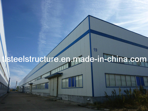 Fashionable Bright Prefabricated Light Steel Structure Warehouse pictures & photos