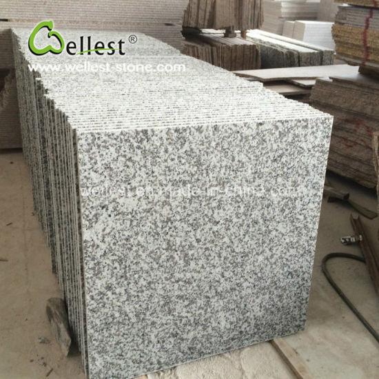 China Fantasy White G439 Polished Granite Floor Tile With Good
