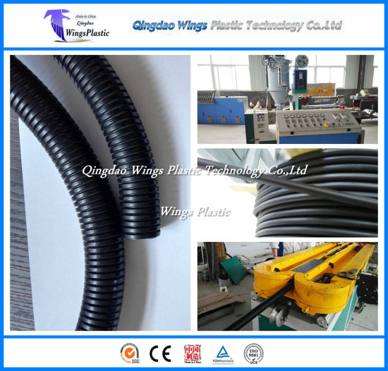20m/Min Plastic Flexible Hose Making Machinery, Corrugated Tube Extrusion Line pictures & photos