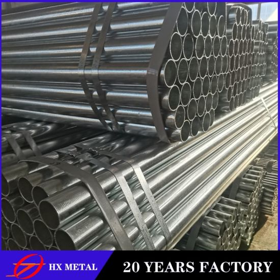 Building Materials Supplies Round Hot DIP Galvanized Steel Pipe and Tube with Competitive Price