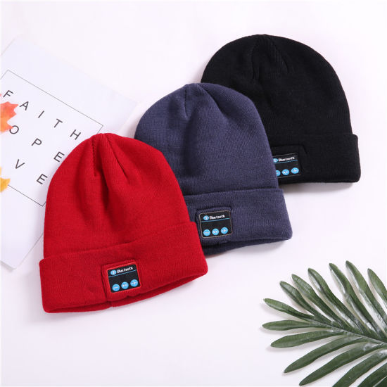 9b38684e97a Best Selling Man Women Knitted Beanie Wireless Bluetooth Music Hat Cap  Headsets M1