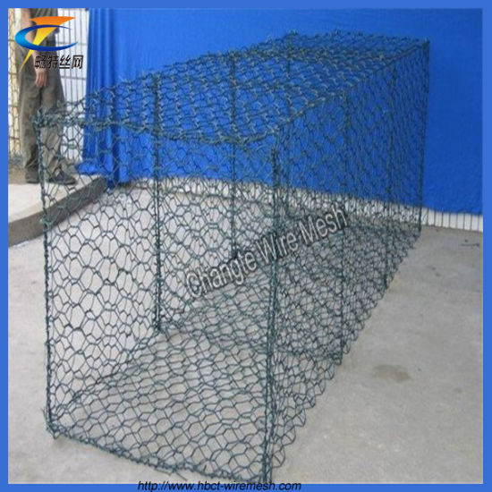 China Competitive Price Anping PVC Coated Gabion Wire Mesh