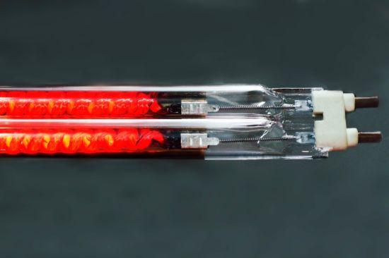 Carbon Fiber Twin Tube Halogen Infrared Lamp