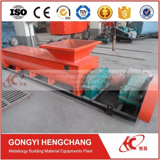 Horizontal Double Propeller Shaft Paddle Mixer for Coal Briquettes Making pictures & photos
