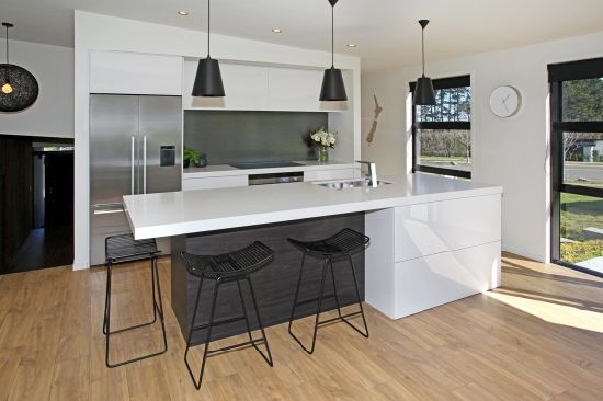 Askl111 White and Black Modern Lacquer Kitchen Cabinet pictures & photos