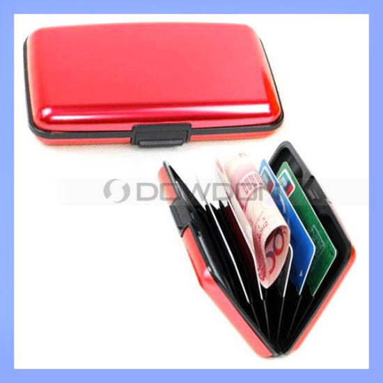 Multifunctional Business Card Holder Case, Aluminum Wallet Case Holder (CHD-231)