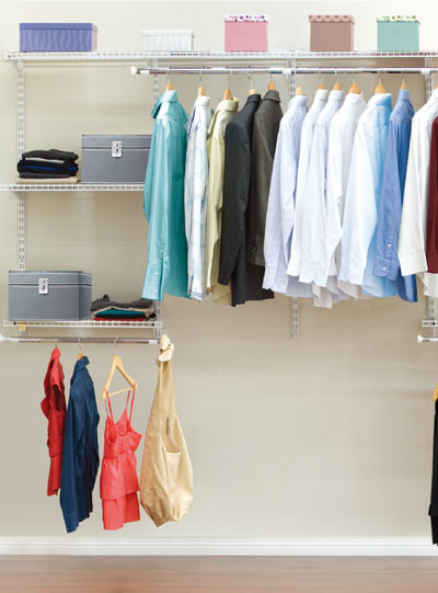 Combined Clothes Rack -2.4m