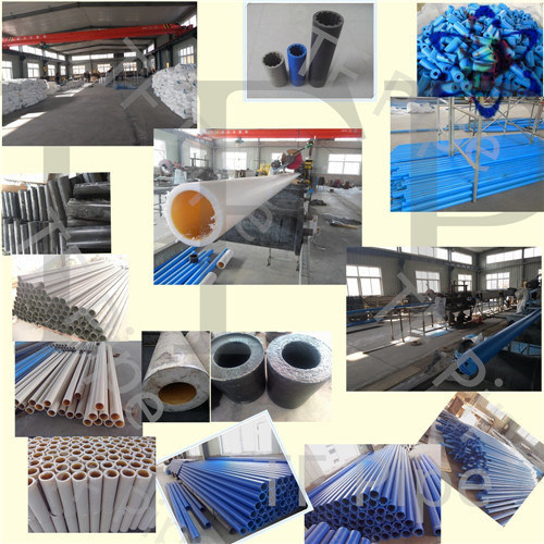 140mm Black UHMWPE Slot Pipe pictures & photos
