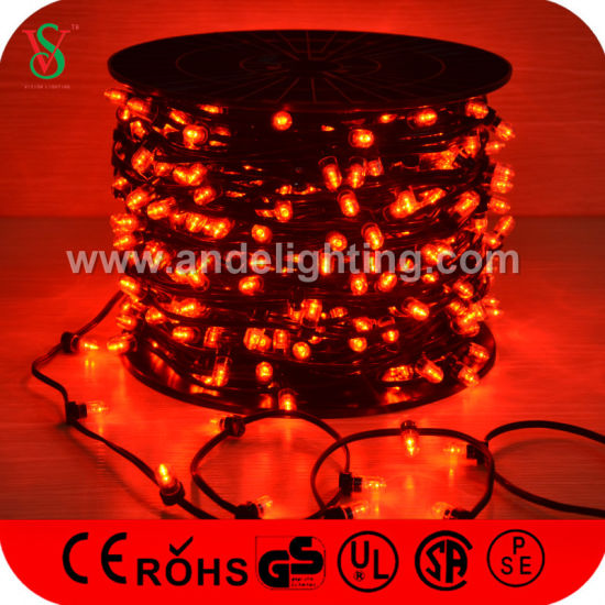 100mroll waterproof led clip string lights for christmas tree