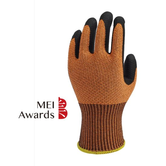 Mei Awards New Anti Skid Workplace Safety Hand Protection Cut-Resistant Labor Work Gloves