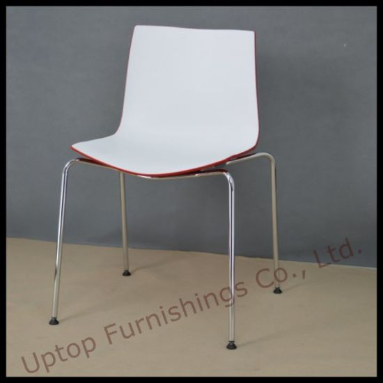 Three D Color Plastic Chair with Chrome Legs (SP-UC467) pictures & photos