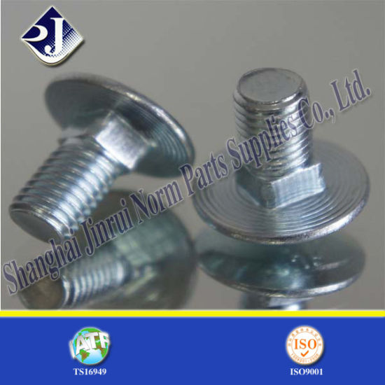 China 8 8 Elevator Carriage Bolt Din603 China Carriage Bolt