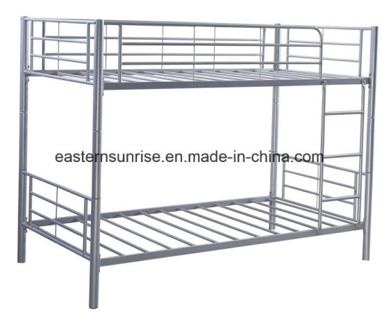 School Camp Military Cheap Steel Frame Bunk Bed