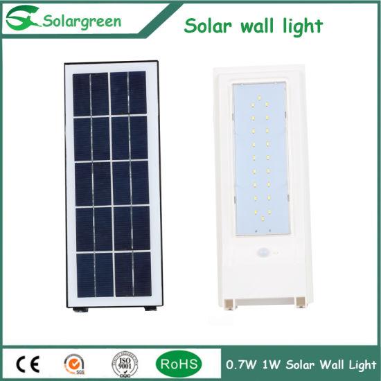 14W Economic Cost 3 Days Back-up Solar Yard Wall Light