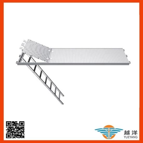 Aluminium Scaffold Trap Door Deck with Ladder for Construction Use