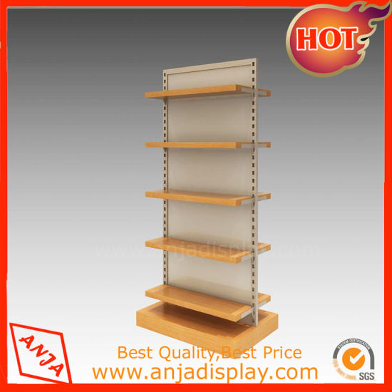 Shoes Wooden Shelf Display for Shop pictures & photos