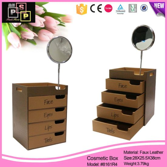 Luxury Jewelry Storage Multi Drawer Case Jewelry Packing Box (8161) pictures & photos