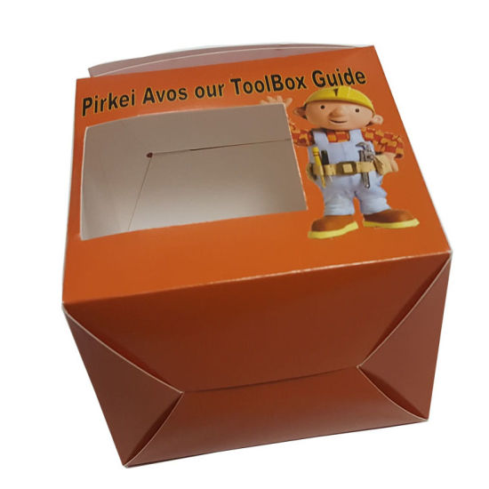Custom Design Food Packaging Box for Cake pictures & photos