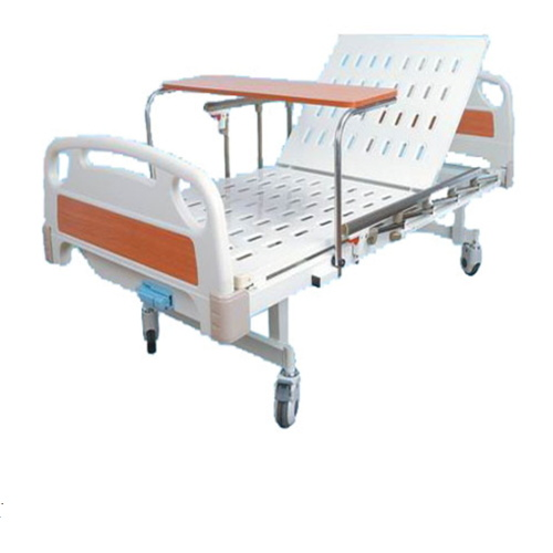 Metal Material Used Hospital Bed for Sale Adjustable Hand Control Bed Used Manual Bed BS-818A