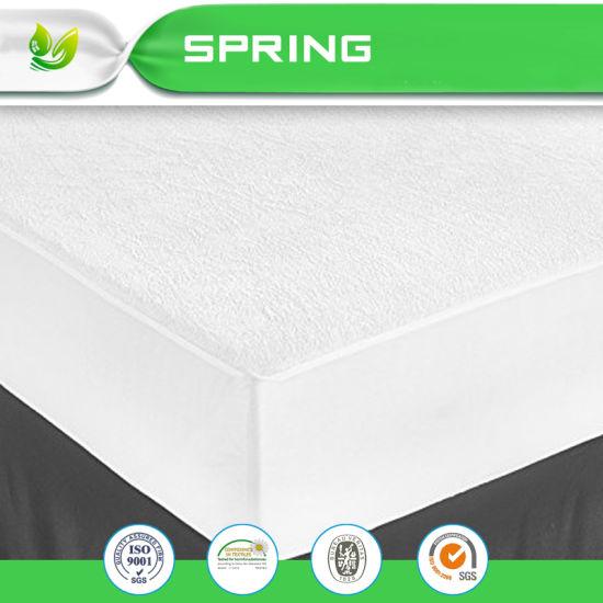 China Amazon Baby Bamboo Terry Fabric Bed Bug Mattress Cover China