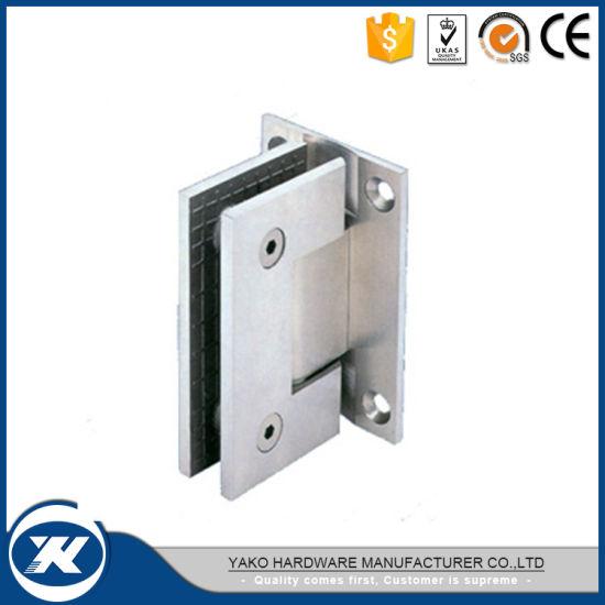China 135 Degree Stainless Steel Bathroom Shower Cabin Glass Door