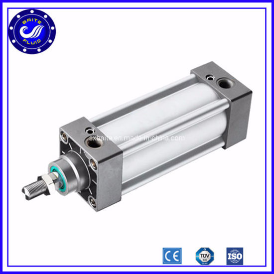 Double Acting ISO 15552 Air Pneumatic Cylinder with 400 mm Bore 3500 mm Stroke
