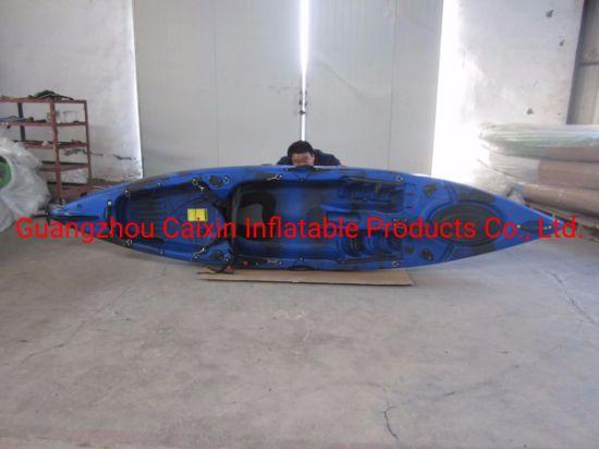 China Rotomolded Polyethylene Sit on Top Fishing Kayak 1 Person Kayak