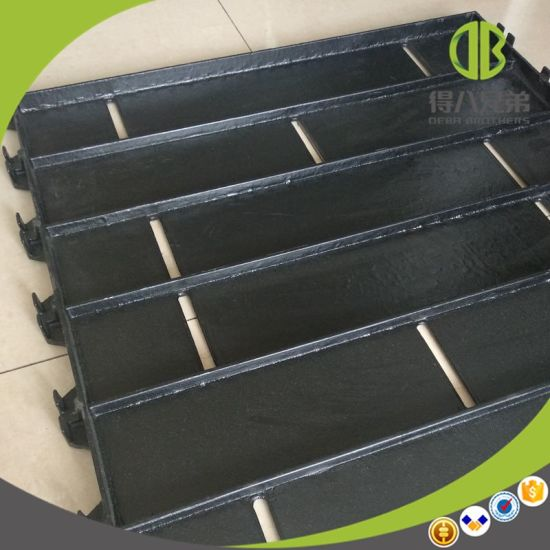 600*600mm Smooth Surface Cast Iron Floor Popular in Pig Farm