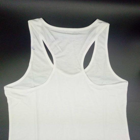 a1f7f1406a4 Racerback Fitness Tank Tops Women Customized Ladies Loop Back Design Tank  Youth Singlets