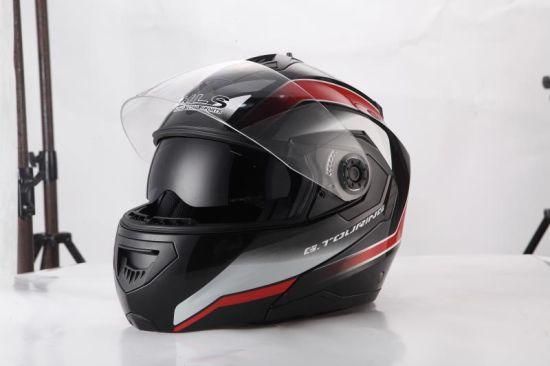 DOT Helmet Double Visor Flip up Motorcycle Modular Helmet