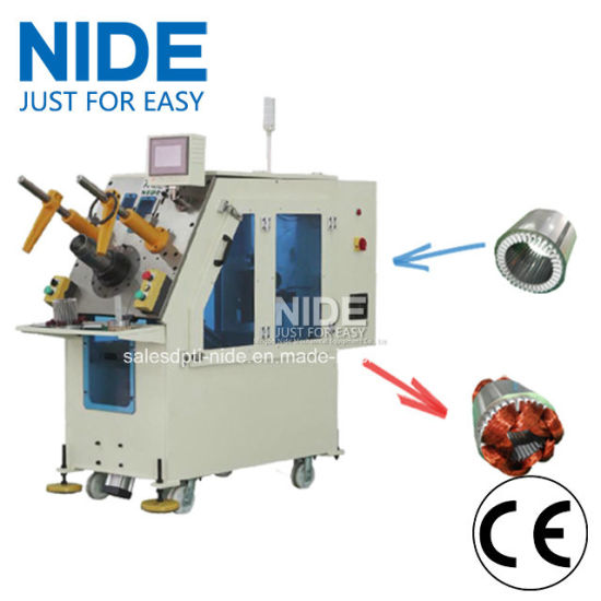 Automatic Fan Motor Stator Coil Winding Inserting Machine pictures & photos