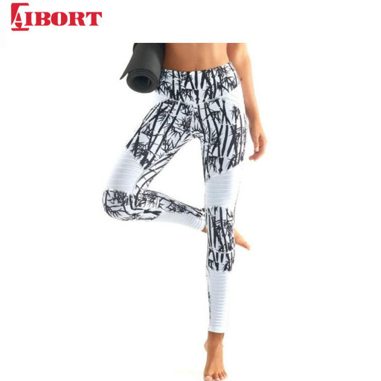 Aibort Wholesale Sublimated Printed Sports Girl Tight Yoga Wear Fashion Leggings (V-leg16 (1)) pictures & photos